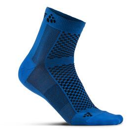 Craft Cool Mid Socks 2-Pack haven/blaze